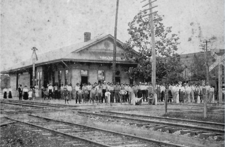 Greenfield Tennessee early 1900's Railroad depot