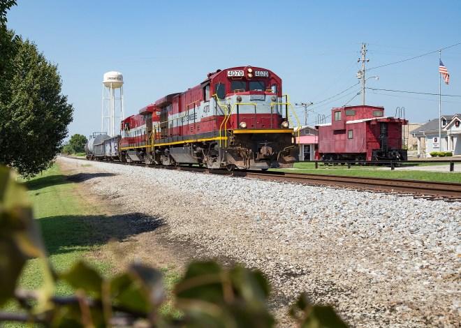 Greenfield, TN train
