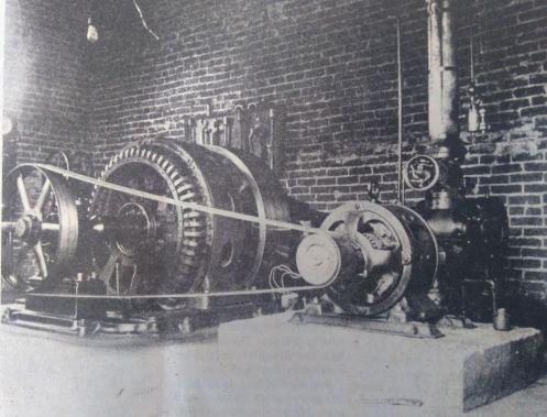 Dresdens Power plant 1917