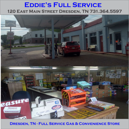 Eddies Full Service Dresden TB Ad