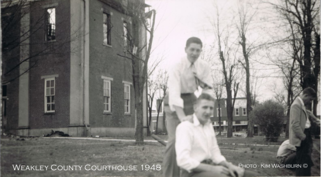 Weakley County Courthouse 1948