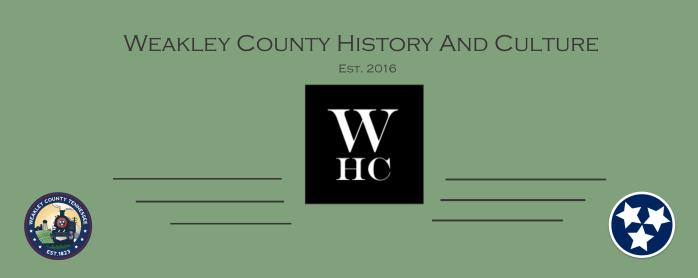 MTD History Martin, TN – Weakley Co  History