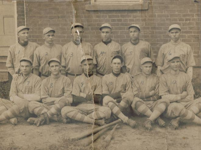 Mc Basball team 1916