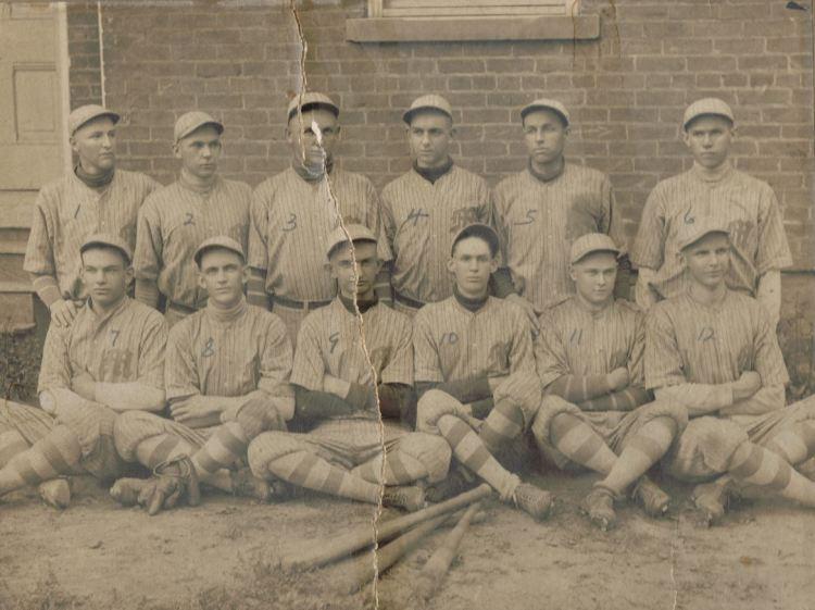Mc Basball team 1916